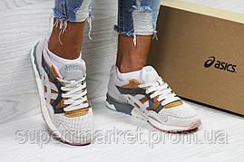 Кроссовки в стиле Asics беж с коричневым. р36, код5823, фото 3