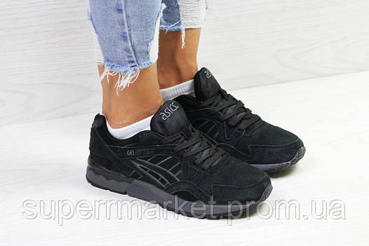 Кроссовки в стиле Asics черные, код5825, фото 2