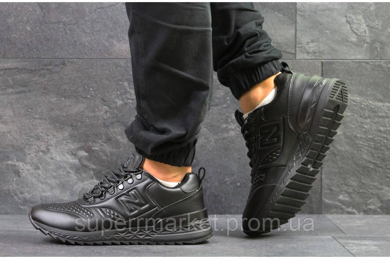Кроссовки New Balance черные, код5833