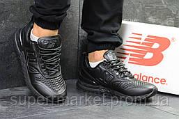 Кроссовки New Balance черные, код5833, фото 3