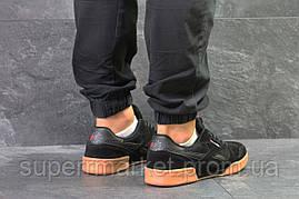Кроссовки Reebok черные с коричневым, код5844, фото 3