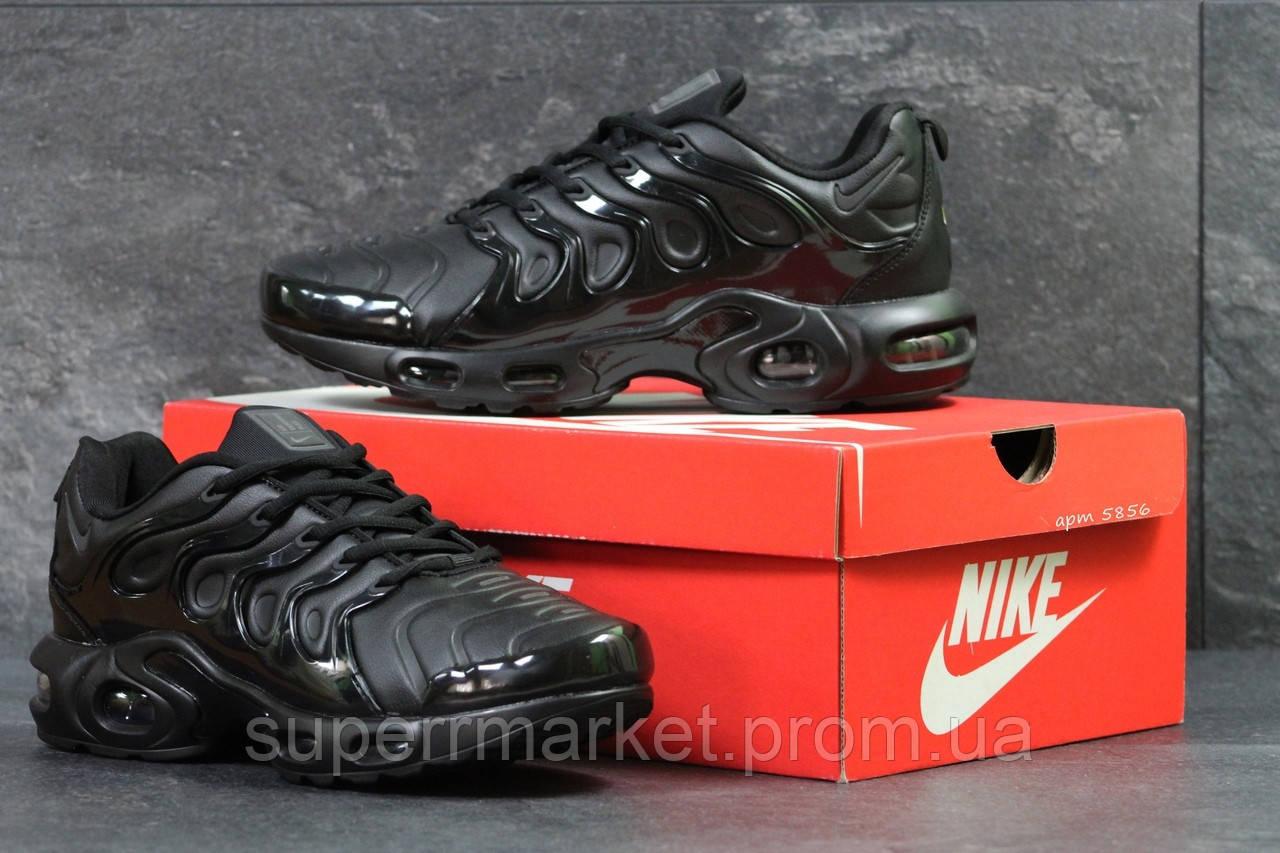 Кроссовки Nike Air Vapormax Plus черные. Код 5856