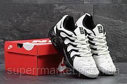 Кроссовки Nike Air Vapormax Plus белые с черным, код5861, фото 2