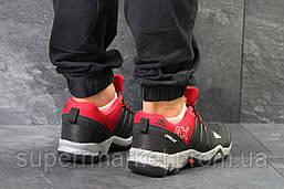 Кроссовки Adidas черные с красным, код5870, фото 2