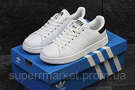 Кроссовки Adidas Stan Smith белые с черным, код5879, фото 2
