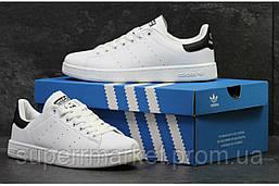 Кроссовки Adidas Stan Smith белые с черным, код5879, фото 3