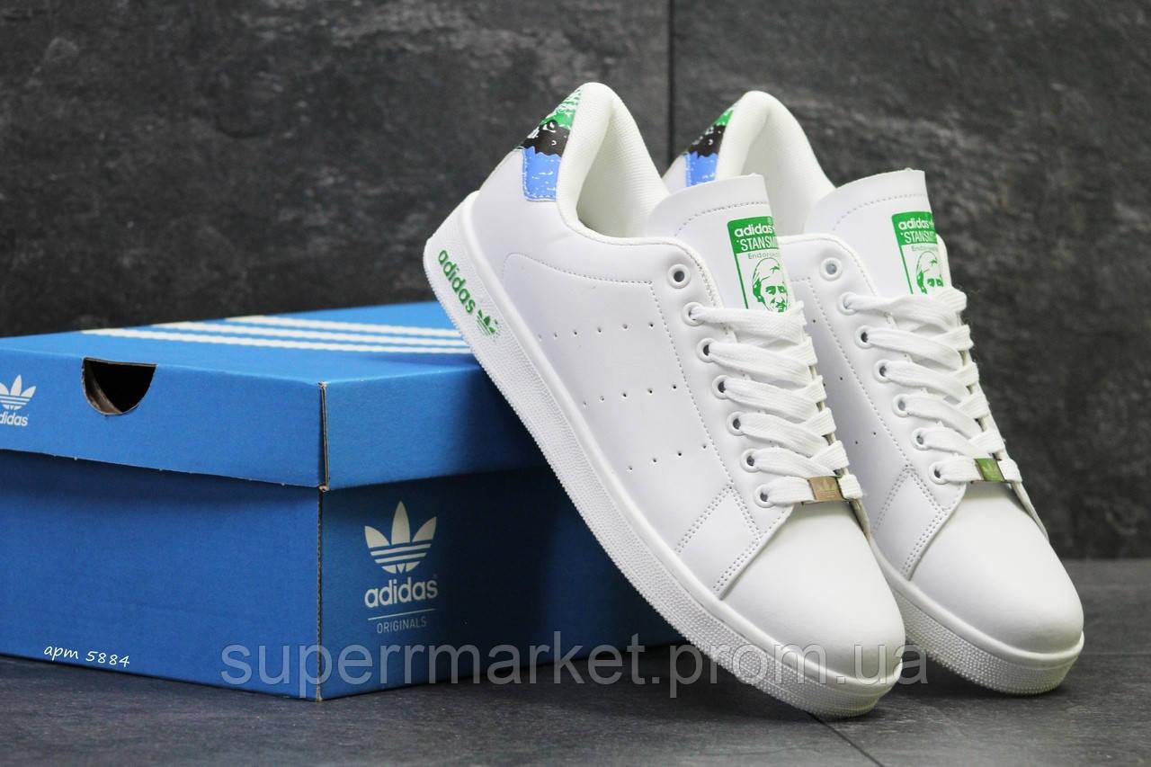 Кроссовки Adidas Stan Smith белые +, код5884