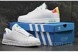 Кроссовки Adidas Stan Smith белые +, код5884, фото 3