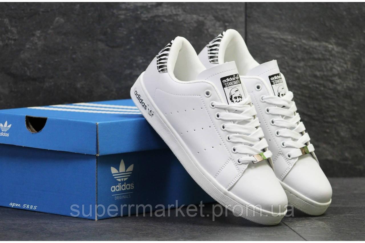 Кроссовки Adidas Stan Smith белые +, код5885