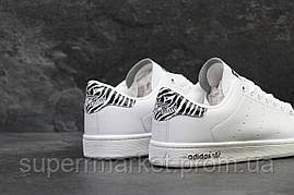 Кроссовки Adidas Stan Smith белые +, код5885, фото 3