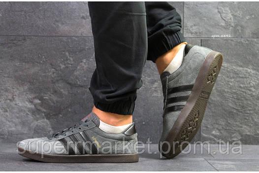 Кроссовки Adidas London темно-серые, код 5892, фото 2