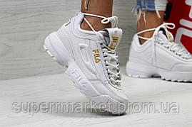 Кроссовки в стиле Fila белые. Р40, фото 2