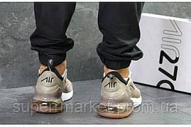 Кроссовки Nike Air Max 270 бежевые, код5909, фото 2