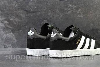 Кроссовки Adidas черные, код 5911, фото 3