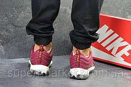 Кроссовки Nike Air Max 97 бордовые, код5915, фото 3