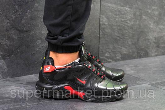 Кроссовки Nike Air Max TN черные с красным. Код 5921, фото 2