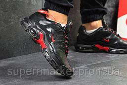 Кроссовки Nike Air Max TN черные с красным. Код 5921, фото 3