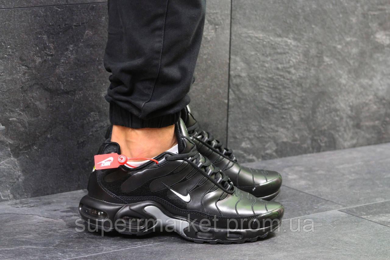 Кроссовки Nike Air Max TN черные с серым, код5923