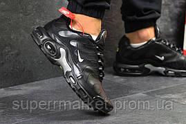 Кроссовки Nike Air Max TN черные с серым, код5923, фото 3