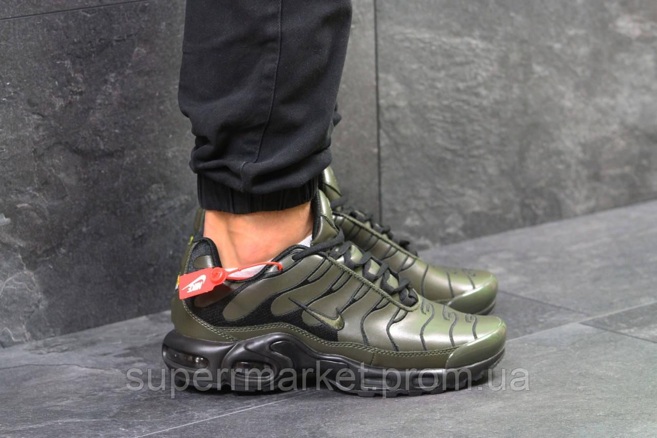 Кроссовки Nike Air Max TN зеленые, код5924