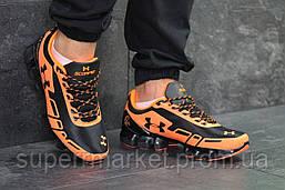 Кроссовки Under Armour Scorpio черные с оранжевым. Код 5949, фото 2