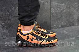 Кроссовки Under Armour Scorpio черные с оранжевым. Код 5949, фото 3