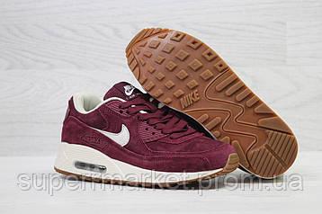 Кроссовки в стиле Nike Air Max бордовые, код5958, фото 2