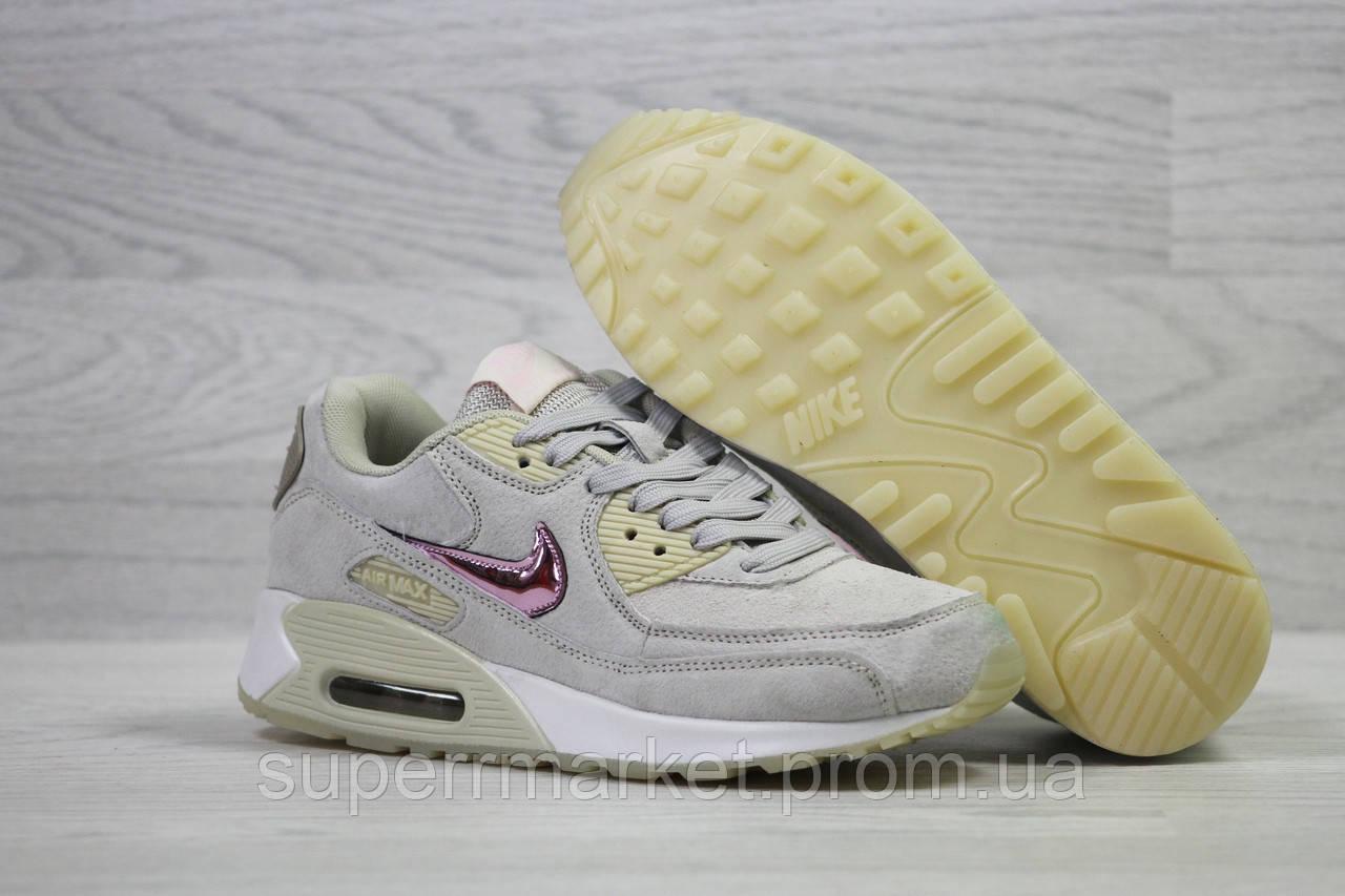 Кроссовки Nike Air Max серые +. Код 5960