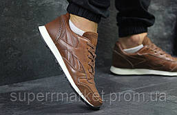 Кроссовки Reebok Classic кожа, светло-коричневые, код5978, фото 3