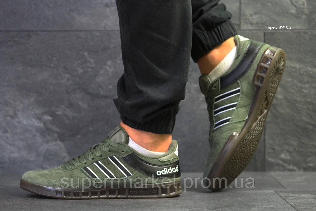 Кроссовки Adidas зеленные. Код 5886
