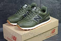 Кроссовки New Balance 574 зеленые, код5994, фото 2