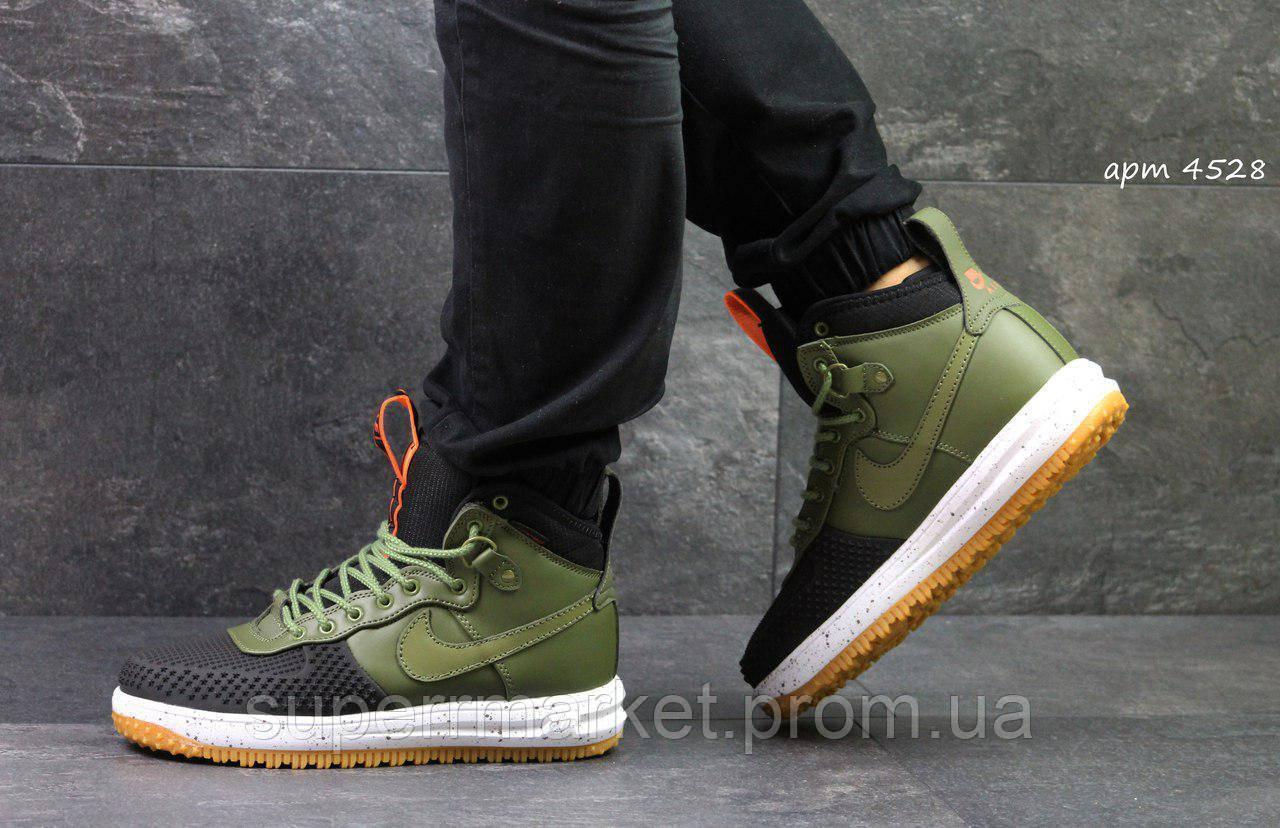 Кроссовки Nike Air Force LF-1 зеленые, код4528