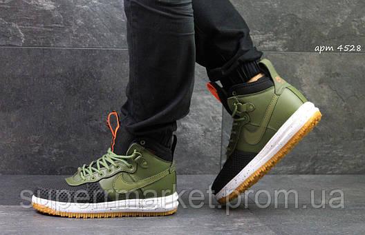 Кроссовки Nike Air Force LF-1 зеленые, код4528, фото 2