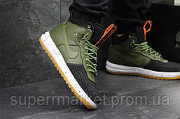 Кроссовки Nike Air Force LF-1 зеленые, код4528, фото 3