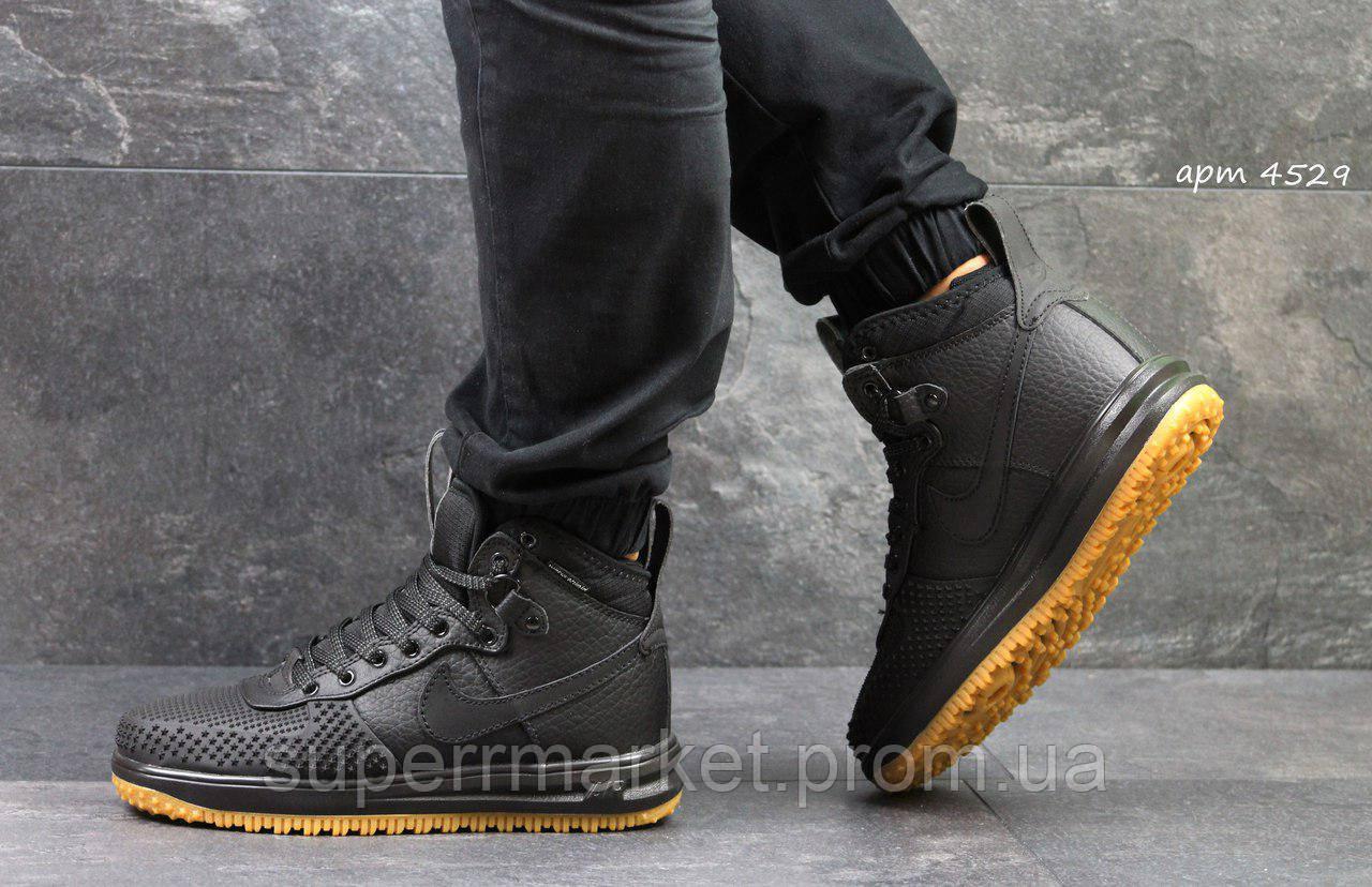 Кроссовки Nike Air Force LF-1 черные, код4529