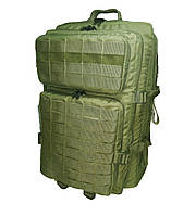 Рюкзак тактический военный армейский 38 литров с MOLLE Нейлон 600D Олива