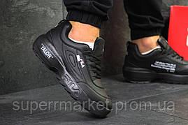 Кроссовки Fila черные, код6151, фото 3