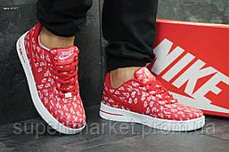 Кроссовки Nike Air Force 1 Low красные, код6157, фото 3