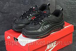 Кроссовки Nike Air Max 98 черные с красным, код6170, фото 2