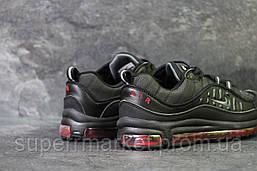 Кроссовки Nike Air Max 98 черные с красным, код6170, фото 3