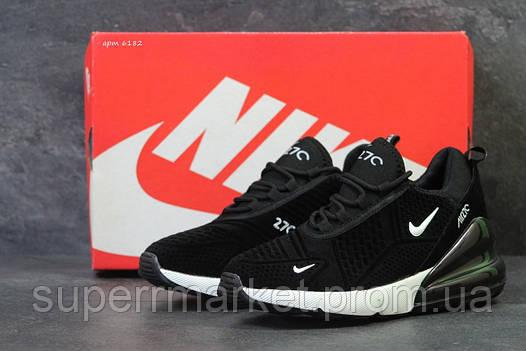 Кроссовки Nike Air Max 270 черные с белым, код6182, фото 2