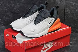 Кроссовки Nike Air Max 270 бежевые, код6185, фото 2