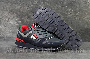 Кроссовки Fila темно-синие, код6188, фото 2