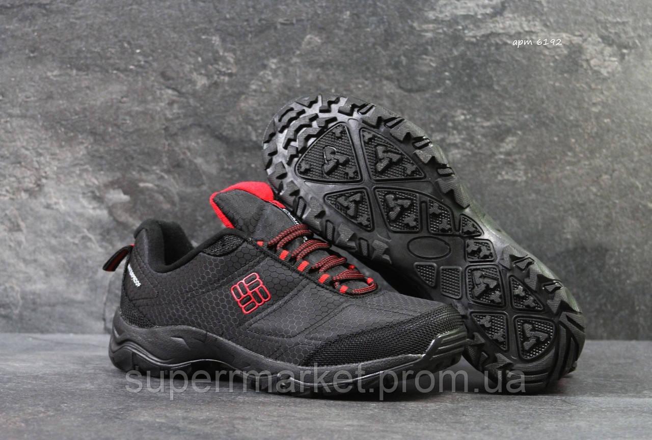 Кроссовки Columbia черные с краным, код6192
