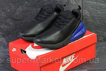 Кроссовки Nike Air Max 270 черные с синим, код6199, фото 2