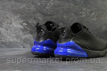 Кроссовки Nike Air Max 270 черные с синим, код6199, фото 3