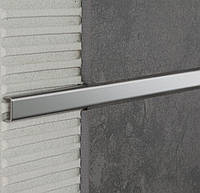 Декоративная вставка 10*4 мм для мозаики нержавеющая сталь сатин