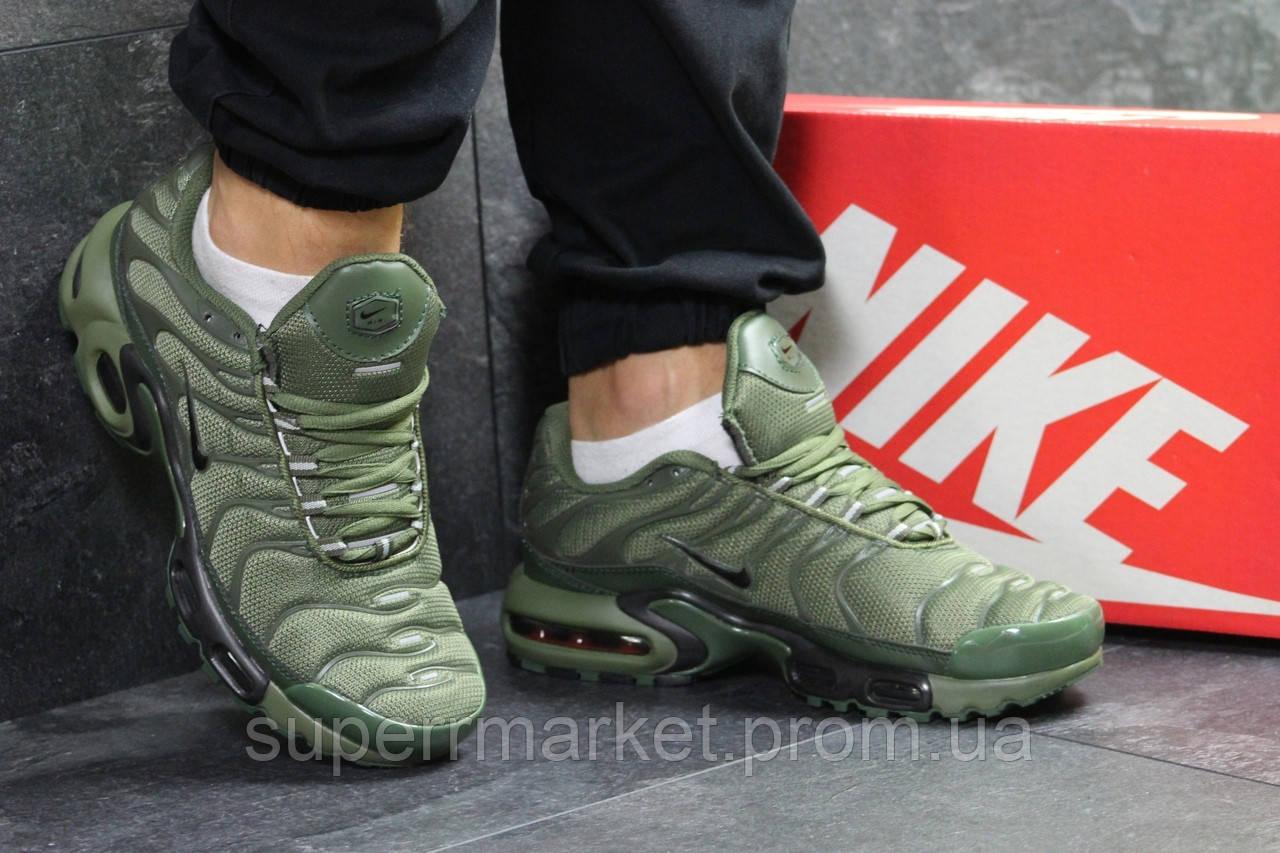 Кроссовки Nike Air Max 95 TN Plus зеленые, код6225