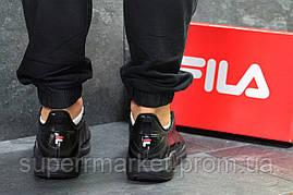 Кроссовки Fila FHT RJ-DASH черные, код6237, фото 3