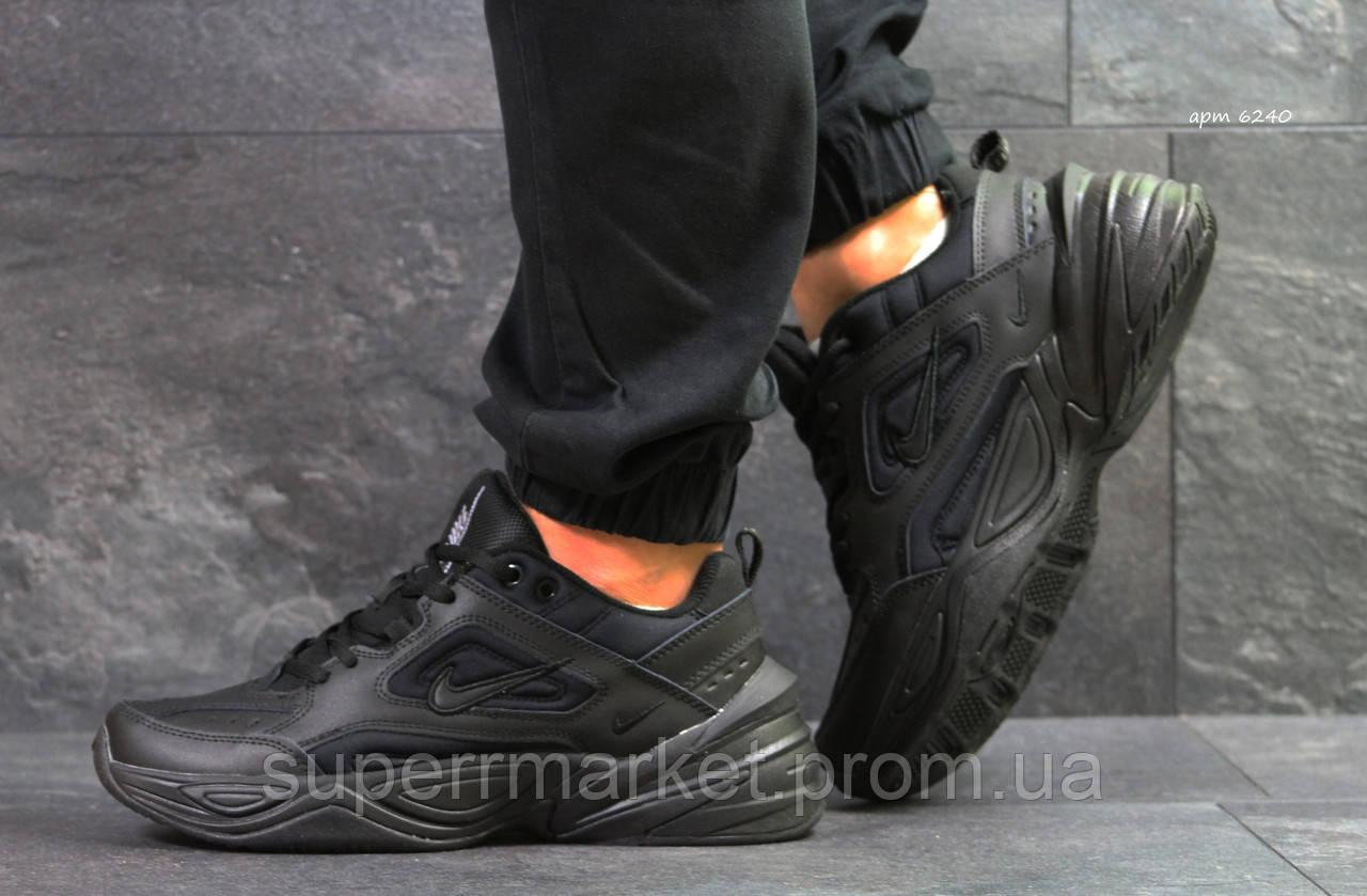 Кроссовки Nike М2K Tekno черные. Код 6240